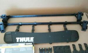 4 ensembles de Thule 400 +400 XTR avec barres , Déflecteur vendu
