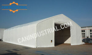 40x70x21 Portable Fabric Storage Building Tent - SPRING SALE ON