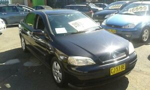 2004 Holden Astra TS MY03 CD Black 4 Speed Automatic Sedan Lidcombe Auburn Area Preview