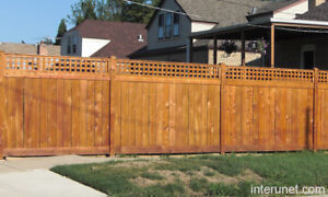 ISO Wood Privacy Fence