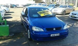 2004 Holden Astra TS MY04.5 Classic Blue 4 Speed Automatic Hatchback Lidcombe Auburn Area Preview