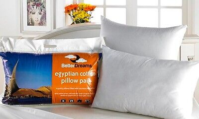 2 / 4 / 6 / 8 PACK DELUXE LUXURY EGYPTIAN COTTON BETTERDREAM