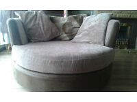dfs round chair and 3 seater sofa for £530