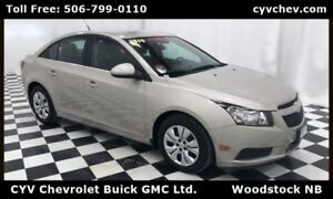 2014 Chevrolet Cruze 1LT - Remote Start - 0% Financing