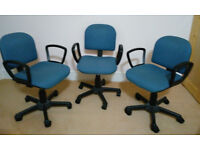 Swivel chairs 3 off