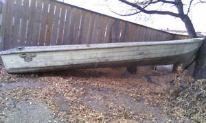 14' Widebottom Mirrocraft Boat (OBO price)