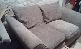 Two and Three Seater Fabric Mink Sofas for Sale - £350