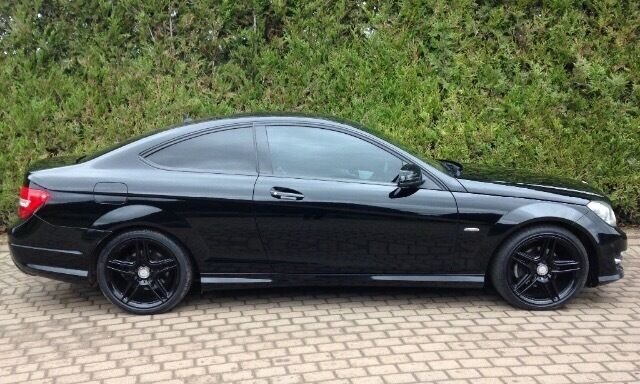 mercedes c220 amg sport coupe rare black edition in littlehampton west sussex gumtree. Black Bedroom Furniture Sets. Home Design Ideas