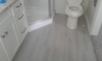 Professional tile installation $4 a square foot