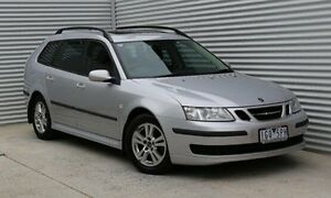 2007 Saab 9-3 444 MY2007 Linear TiD Sport Combi Sport Silver 6 Speed Sports Automatic Wagon Thomastown Whittlesea Area Preview