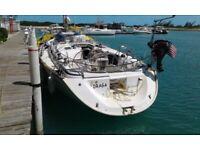 Bavaria 44 Sailboat 2003, made in Germany needs main sail and rigging