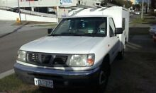 2000 Nissan Navara NAVARA 4x2 White Manual CAB CHASSIC Narellan Camden Area Preview