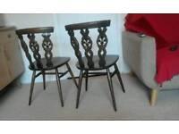 Pair of Ercol chair
