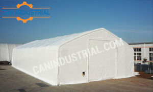 40x60x21 Portable Fabric Storage Building Tent - SUMMER SALE ON
