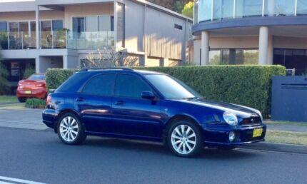 2001 Subaru Impreza Hatchback. 9 month Rego