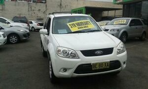 2009 Ford Escape ZD White 4 Speed Automatic Wagon Lidcombe Auburn Area Preview