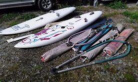 2 x BIC windsurfer s