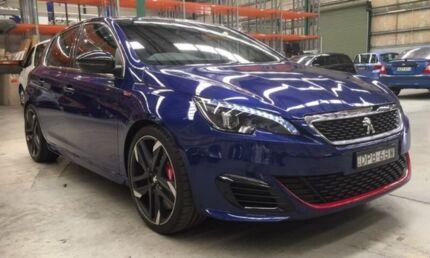 2017 Peugeot 308 T9 MY17 GTI 270 Blue 6 Speed Manual Hatchback