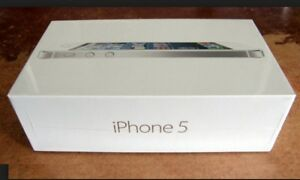 BRAND NEW.SEALED APPLE IPHONE 5 64GB►SILVER►1YEAR APPLE WARRANTY