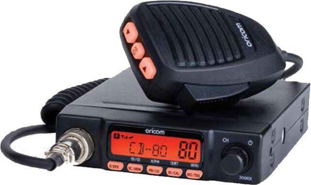 ORICOM UHF180F FIXED 5 WATT 80 CHANNEL UHF RADIO & ANALOGUE SCANNER