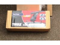 Thule foot pack and bars