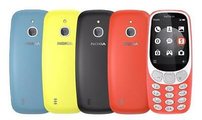 smartphone - Nokia 3310 2017 Blue Black Yellow Red Dual Sim Single Sim Unlocked 3G Smartphone