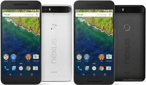 2 GOOGLE NEXUS 6P 5.7 INCH/32GB/3GB  169EACH