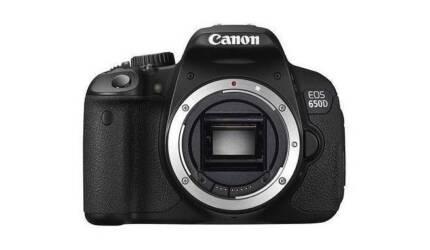 CANON EOS 650D DSLR 18.0 MP (body only)