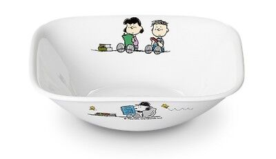 Middle Dinner plate dish 21.6cm SNOOPY PEANUTS x CORELLE the home