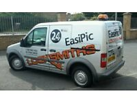 Easipic pro locksmiths, full lock opening and replacement service,