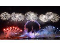 London NYE tickets ( blue area ) best view