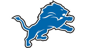 SOLD--------------lions vs Rams  2 seats 10 YD Line Row 20 $200