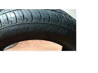 BRAND NEW Firestone TZ300 tyre. 215 55 16.