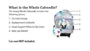 Car seat caboodle sets for sale!