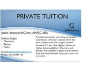 Science and Maths Tutor - Chemistry, Biology and Maths Tuition