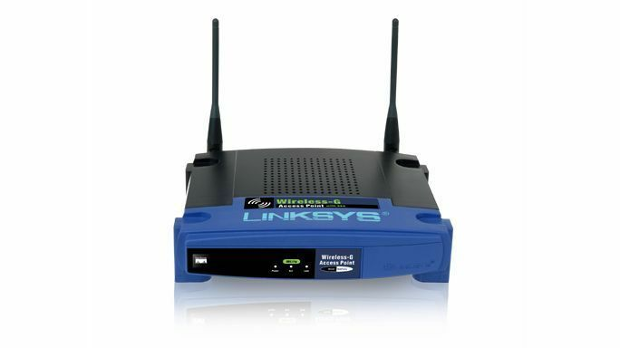 Linksys WAP54G Wireless G Access Point 2.4 GHz