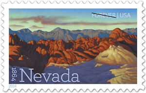 USPS-New-Nevada-Statehood-Forever-Stamp-Sheet-of-20