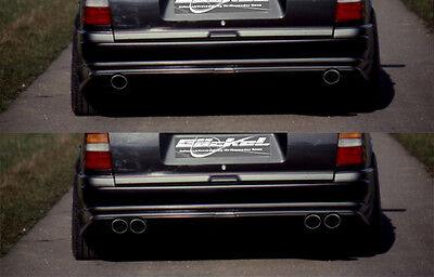 Mercedes Benz W124 T Premium Mittelschalldämpfer u. Endschalldämpfer Auspuff D10