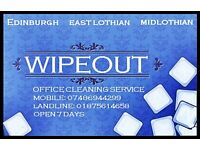 WIPEOUT OFFICE CLEANING AND COMMERCIAL SERVICES.