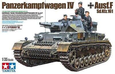 Tamiya 35374 Panzerkampfwagen IV Ausf. F (Sd. Kfz. 161) - 1:35