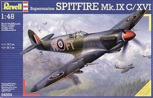 Revell 1/48 Supermarine Spitfire Mk IXc / XVI # 04554*