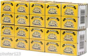 100 BOX  x SHIP Safety Matches 40pcs per Box BBQ candles camping COOKING lighter