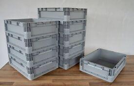 Grey Euro Box 10 litre
