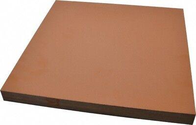 Made In Usa 12 X 12 X 1 Inch Paper Base Phenolic Laminate Xx Plastic Sheet...