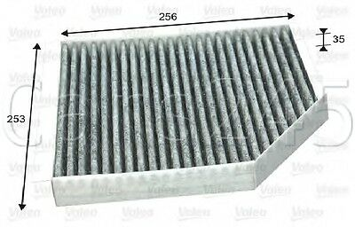 Audi A8 4H A6 Allroad 4Gh 4G2 C7 Activated Carbon Cabin Air Filter Valeo 2009