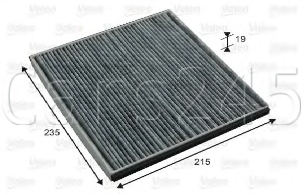 Activated Carbon Cabin Air Filter VALEO Fits LEXUS Is Gs Ls TOYOTA Harrier 94-08
