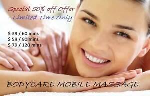 50% off Mobile Massage Melbourne CBD Melbourne City Preview