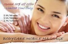 $39 / hour Mobile Massage Melbourne CBD Melbourne City Preview