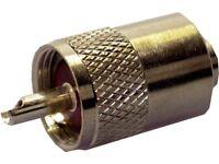 1 x 7mm PL-259 Male plug