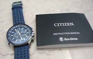 Citizen Blue Angels Eco-Drive Watch